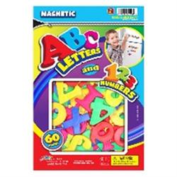 ABC MGNTIC LTR&NBRS 60 PC
