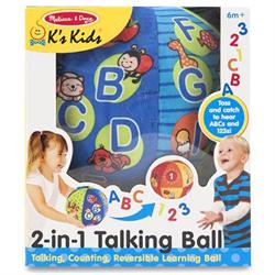 MELISSA & DOUG 2 IN 1 TALKING BALL