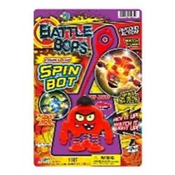 BATTLE BOPS L/U SPIN BOT (discontinued by vendor)