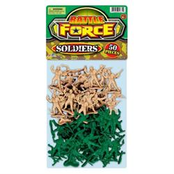 BATTLE FORCE SOLDIERS 50PK