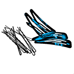CLIPS, BOBBY PINS AND ELASTICS