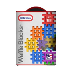 LITTLE TIKES WAFFLE BLOCKS 60 PC BAG